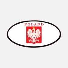 Poland Eagle Red Shield Patches