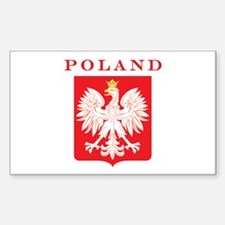 Poland Eagle Red Shield Decal