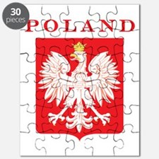 Poland Eagle Red Shield Puzzle