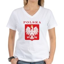Polska Eagle Red Shield Shirt