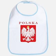 Polska Eagle Red Shield Bib