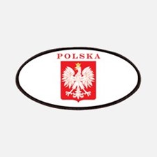 Polska Eagle Red Shield Patches