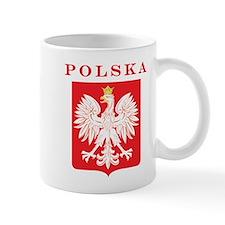 Polska Eagle Red Shield Mug