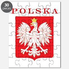 Polska Eagle Red Shield Puzzle