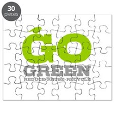 Go Green For Earth Day Puzzle