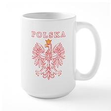 Polska Red Polish Eagle Mug