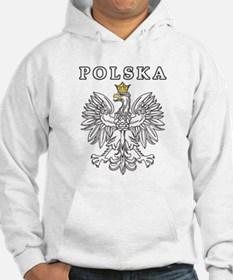 Polska With Polish Eagle Hoodie