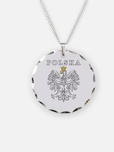 Polska With Polish Eagle Necklace