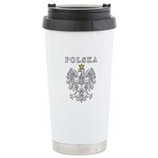 Polska With Polish Eagle Travel Mug