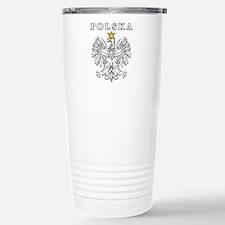 Polska With Polish Eagle Travel Mug