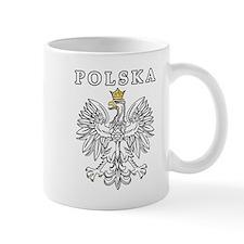 Polska With Polish Eagle Mug