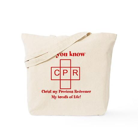 CPR Tote Bag