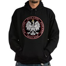 Round Polish Eagle Hoodie