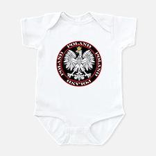 Round Polish Eagle Infant Bodysuit