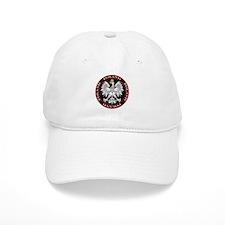 Round Polish Eagle Baseball Cap