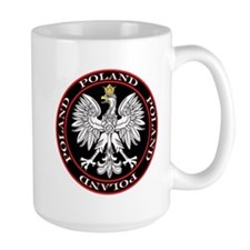 Round Polish Eagle Mug