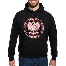 Round Polska Eagle Hoodie
