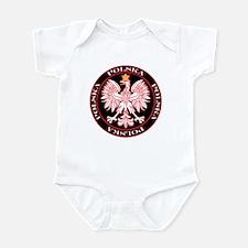 Round Polska Eagle Infant Bodysuit