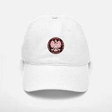 Round Polska Eagle Baseball Baseball Cap