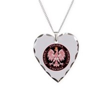 Round Polska Eagle Necklace