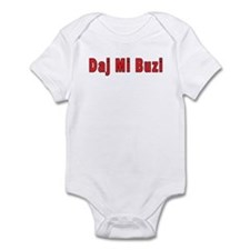 Daj Mi Buzi - Give me a Kiss Infant Bodysuit