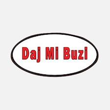 Daj Mi Buzi - Give me a Kiss Patches