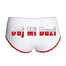 Daj Mi Buzi - Give me a Kiss Women's Boy Brief