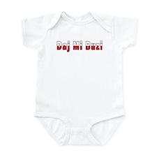 Daj Mi Buzi - Give me a Kiss Infant Bodysuit