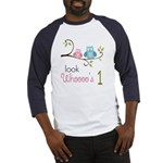 Custom Owl Birthday Baseball Jersey