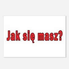 jak sie masz? - How Are You Postcards (Package of