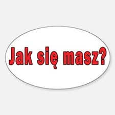 jak sie masz? - How Are You Decal
