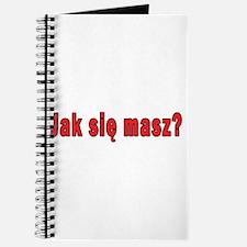 jak sie masz? - How Are You Journal