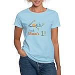 Custom Owl Birthday Women's Light T-Shirt