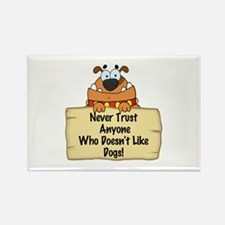 Like Dogs Rectangle Magnet (100 pack)