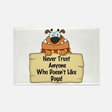 Like Dogs Rectangle Magnet