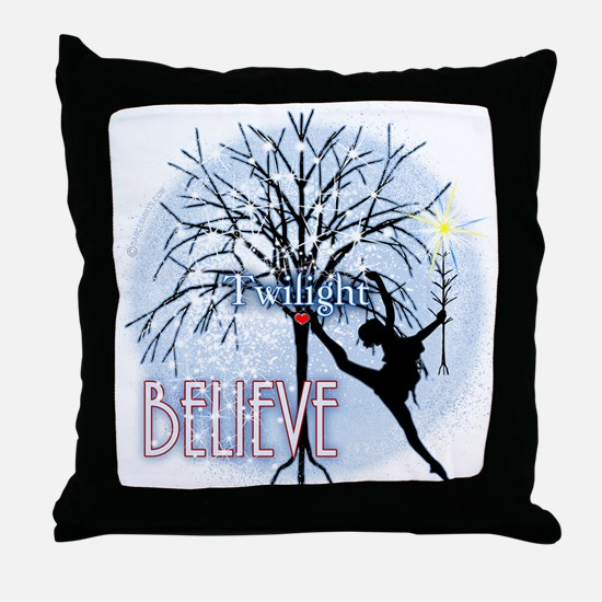 Must Have Twilight #3 by Twibaby Throw Pillow