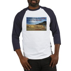 Famous Quotes, Smoldering Towers! Baseball Jersey