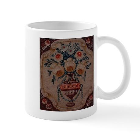 Folk Art Roses Mug