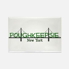 Poughkeepsie New York Rectangle Magnet