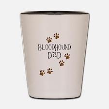 Bloodhound Dad Shot Glass