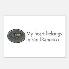 My Heart Belongs in SF Postcards (Package of 8)