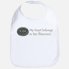 My Heart Belongs in SF Bib