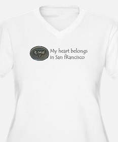 My Heart Belongs in SF T-Shirt