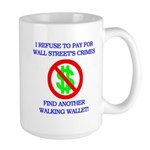 Walking Wallet Large Mug
