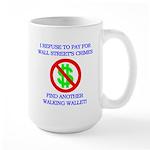 Walking Wallet Large Mug