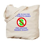 Walking Wallet Tote Bag