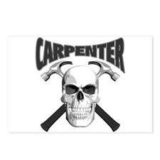 Carpenter Skull Postcards (Package of 8)