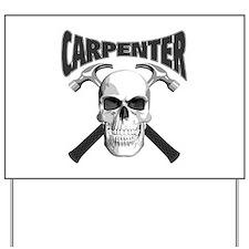 Carpenter Skull Yard Sign