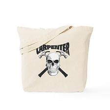 Carpenter Skull Tote Bag