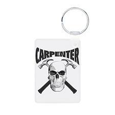 Carpenter Skull Keychains
